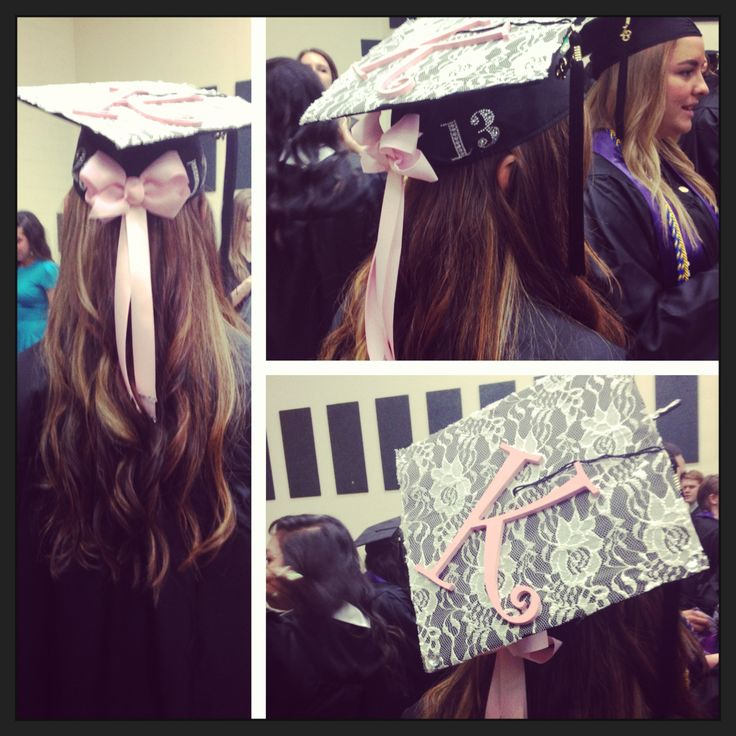 Graduation Cap 2013! I think I like this better than the bow on the top!