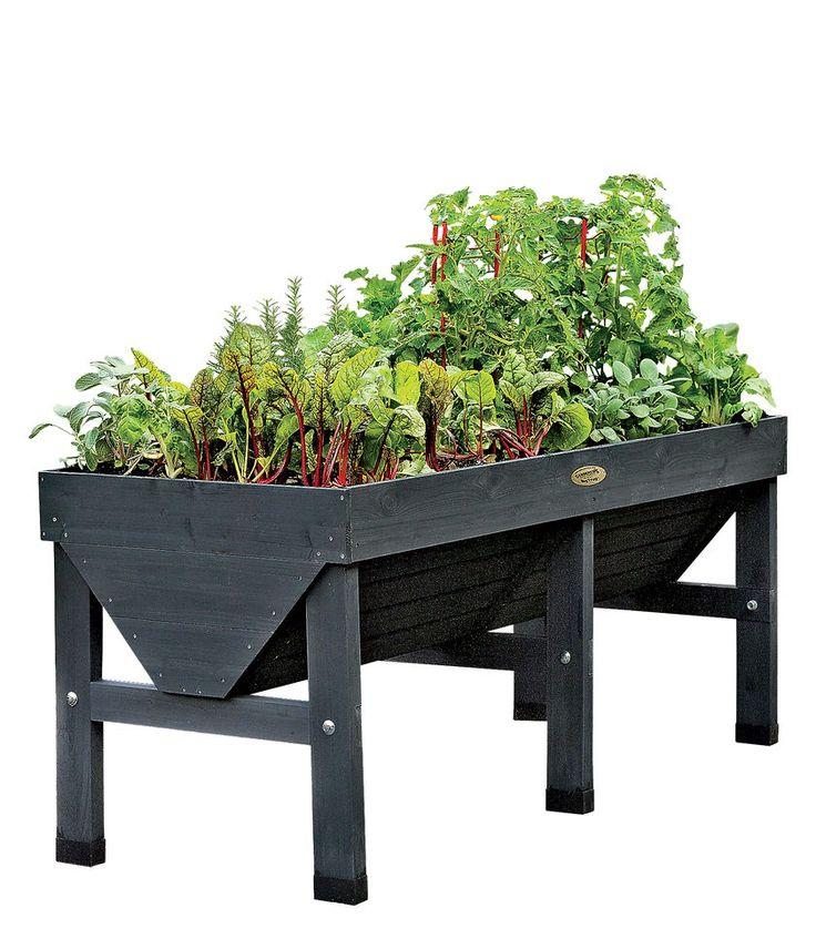 VegTrug Patio Garden Charcoal | Gardener's Supply Mais