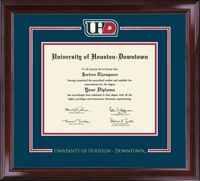 University of Houston Downtown Diploma Frame - I WANT!!