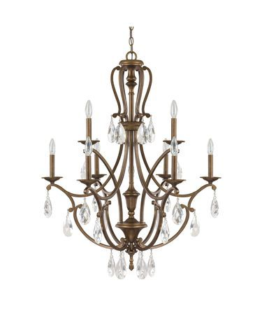 Capital Lighting 4299 Claybourne 31 Inch Two Tier Chandelier