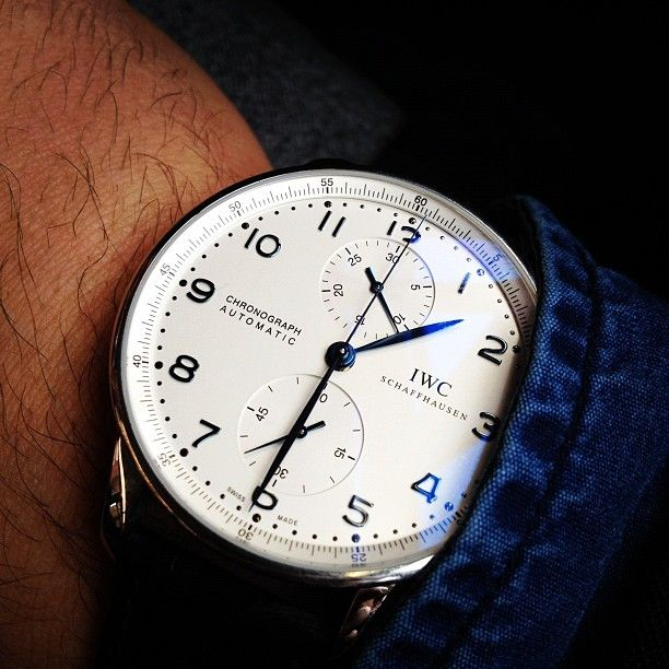 Classic style by IWC