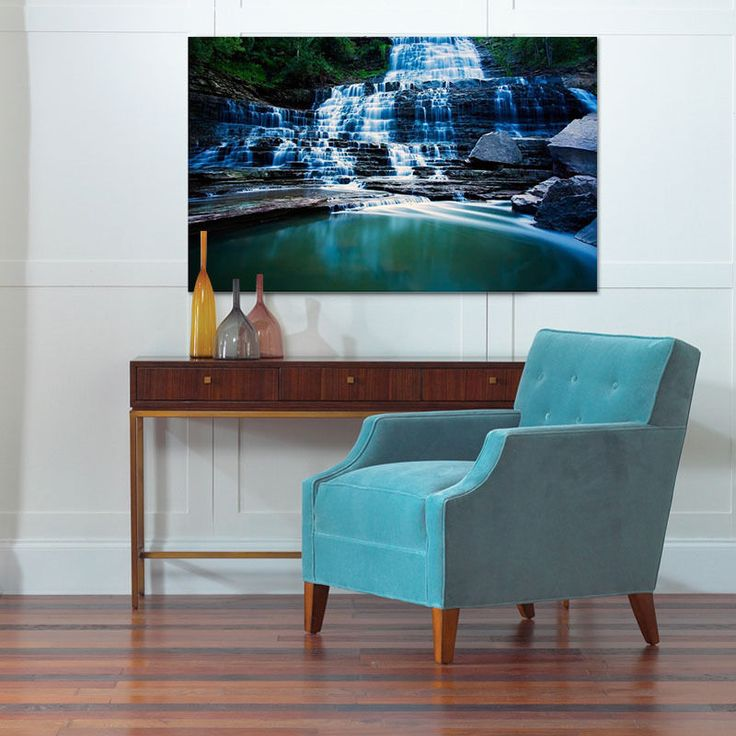 3D Waterfall, Lake 66 Wall Stickers Vinyl Wall Murals Print Ajstore Us