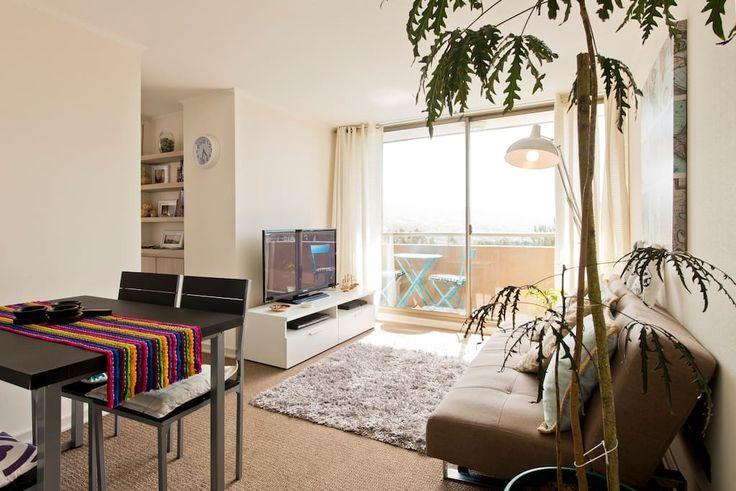 Échale un vistazo a este increíble alojamiento de Airbnb: Lindo departamento en Valparaíso - Departamentos en alquiler en Valparaíso