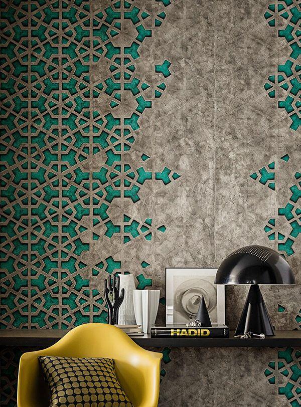 Arabic pattern in modern way