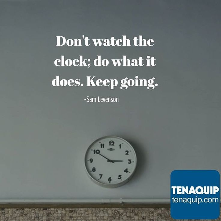 """""""Don't watch the clock; do what it does. Keep going."""" #MondayMotivation #quotes #keepgoing #dontgiveup"""