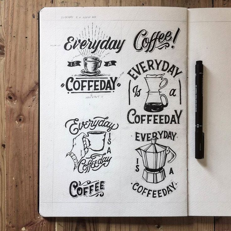 Coffee Coffee Coffee. Type by @hendryjuanda - #typegang - free fonts at typegang.com | typegang.com #typegang #typography