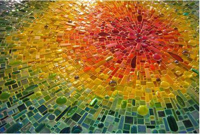 mosaic: Mosaic Ideas, King Mosaic, Craft, Mosaic Tile, Color, Mosaics, Sonia King, Stained Glass, Mosaic Art