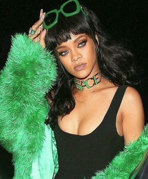 xxxxxxxxx | makeup, green and rihanna
