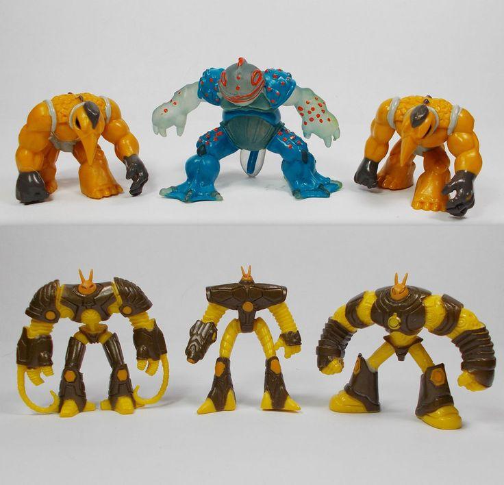 Gormiti - Mini Toy Figures X 6 - Giochi Xenox Panini