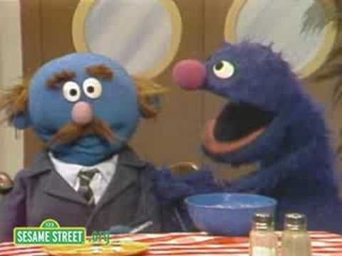 One of my favorites! Sesame Street: Grover And A Fly In My Soup