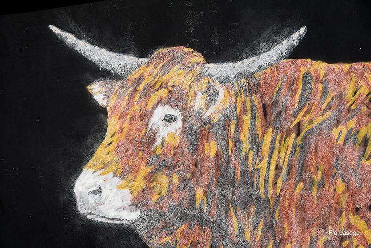 Fresque à Bayonne, Pays Basque de A-Mo