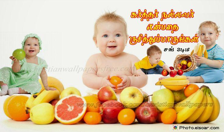 Download HD Christian Bible Verse Greetings Card & Wallpapers Free: Tamil Desktop Cute HD Bible Verse Wallpaper
