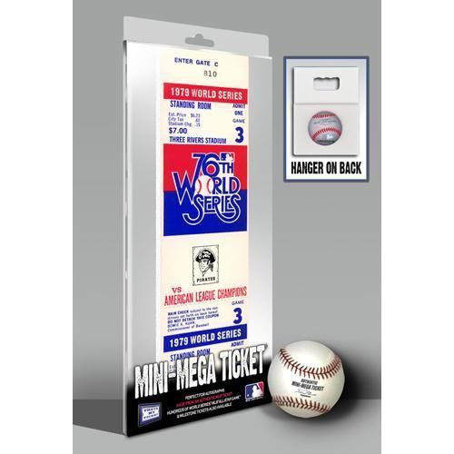 1979 World Series Mini-Mega Ticket - Pittsburgh Pirates