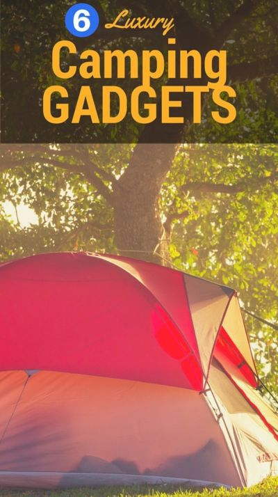 Sleeping under the stars doesn't mean you have to rough it. Hello, portable shower! If you love the thrill of camping but still like having a few modern comforts, eBay has awesome luxury camping gadgets you'll love for your next trip into the woods.