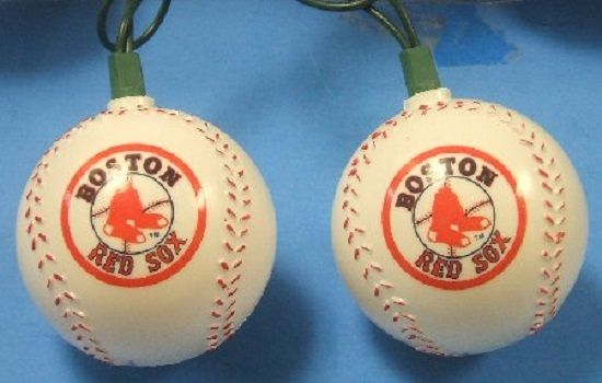 Red Sox String Lights : MLB Boston Red Sox Baseball Christmas Tree Light Set @Channing Langston Our Apartment & Her ...