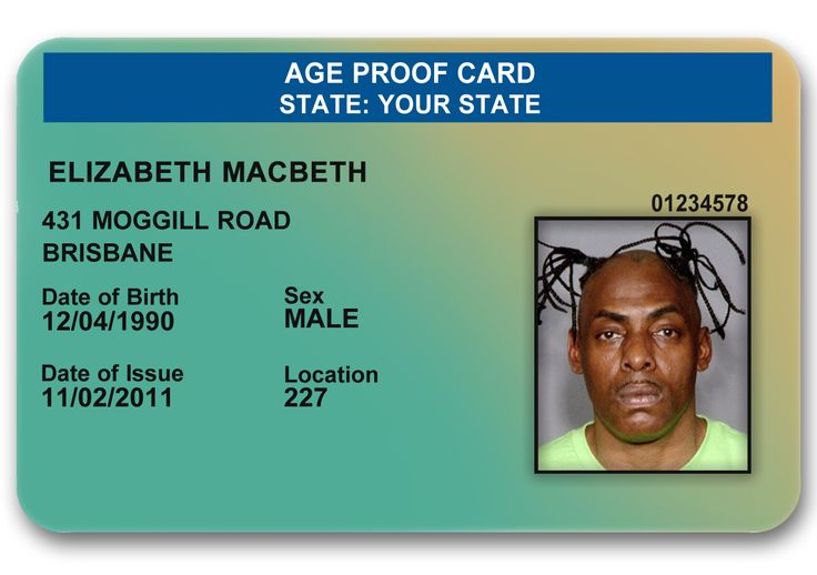 Age proof novelty ID #novelty #noveltyid #ageproof
