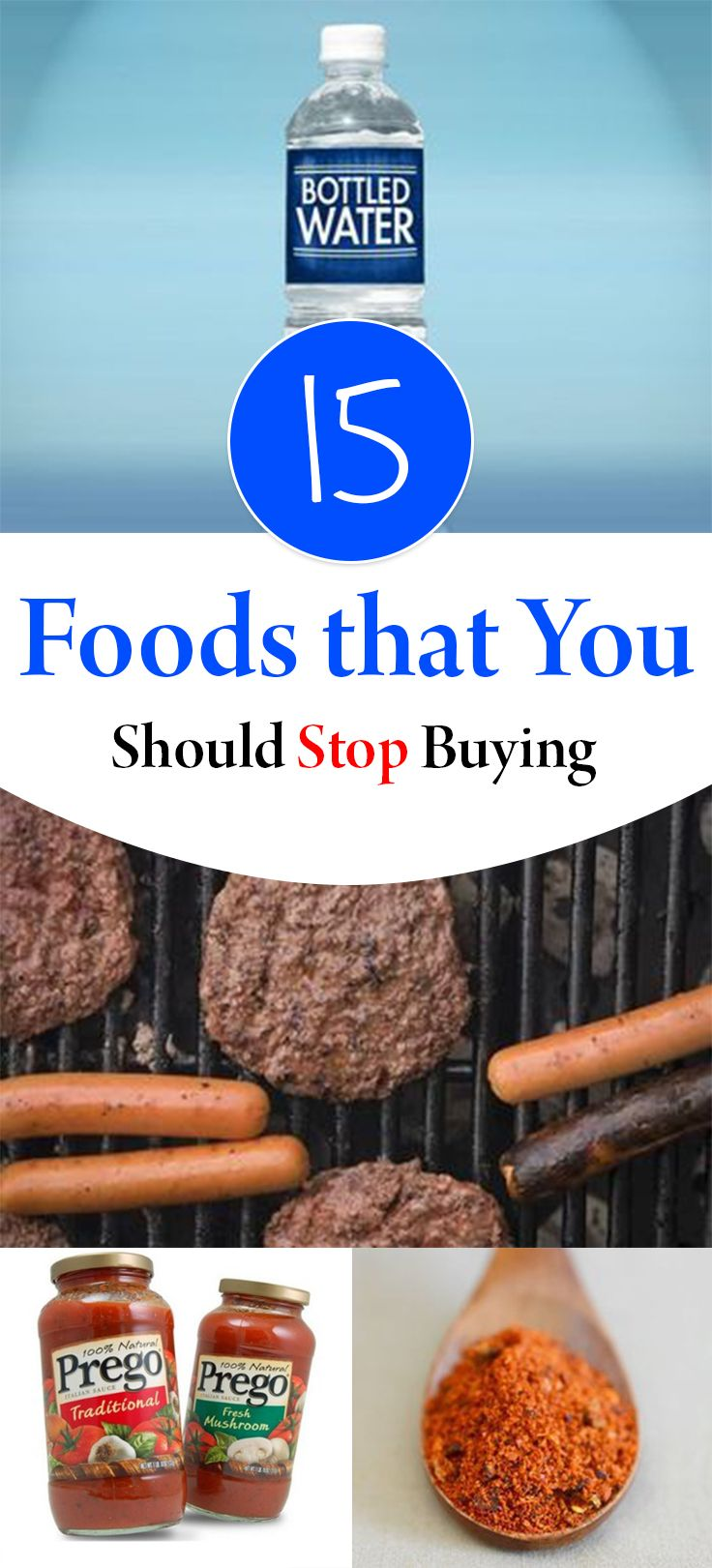 15 Foods that You Should Stop Buying - Wrapped in Rust