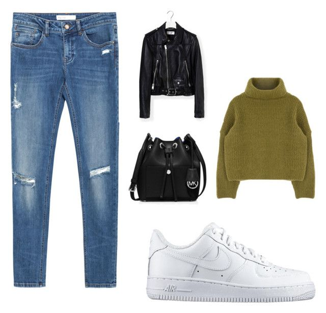 """""""Untitled #16"""" by tereza-99 on Polyvore featuring interior, interiors, interior design, home, home decor, interior decorating, Zara, NIKE, Yves Saint Laurent and MICHAEL Michael Kors"""