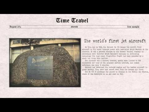 Time Travel August 27th - YouTube