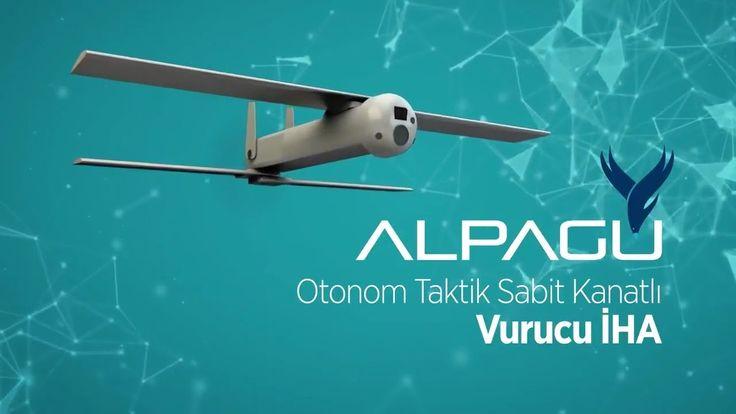 STM Alpagu - Fixed Wing Kamikaze Drone