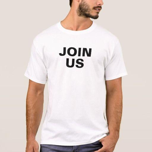 Join Us Men's Basic T-Shirt