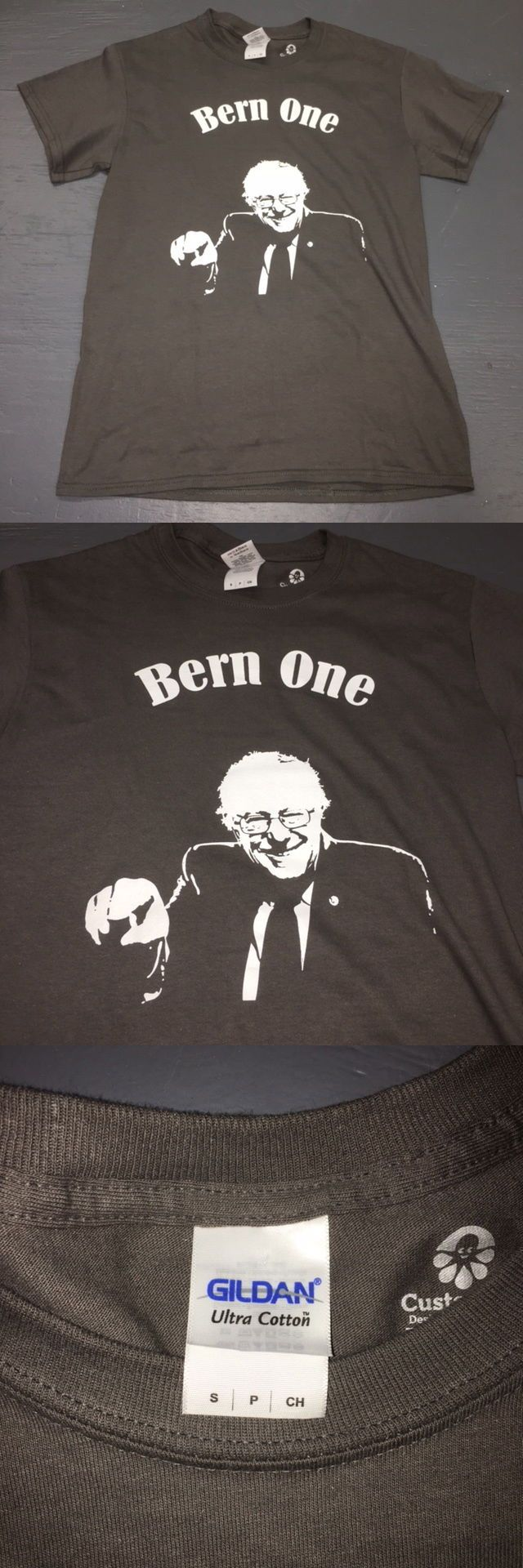 Bernie Sanders: Bernie Sanders Bern One 2016 Presidential Campaign T Shirt Democrat Mens Small -> BUY IT NOW ONLY: $2.99 on eBay!