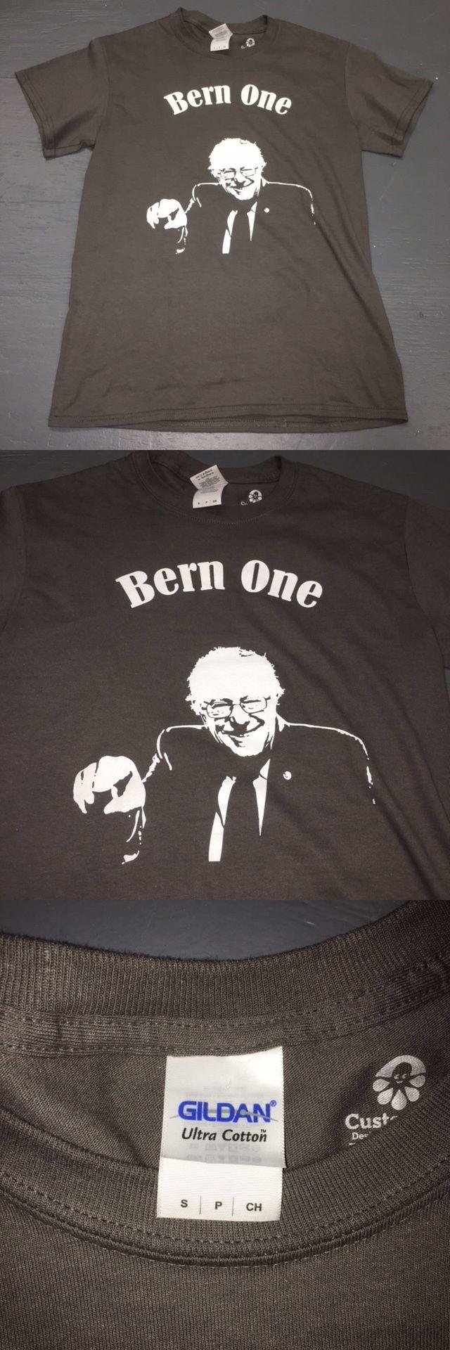 Bernie Sanders: Bernie Sanders Bern One 2016 Presidential Campaign T Shirt Democrat Mens Small -> BUY IT NOW ONLY: $2.99 on eBay!