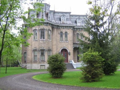 The Glanmore house in Belleville, Ontario