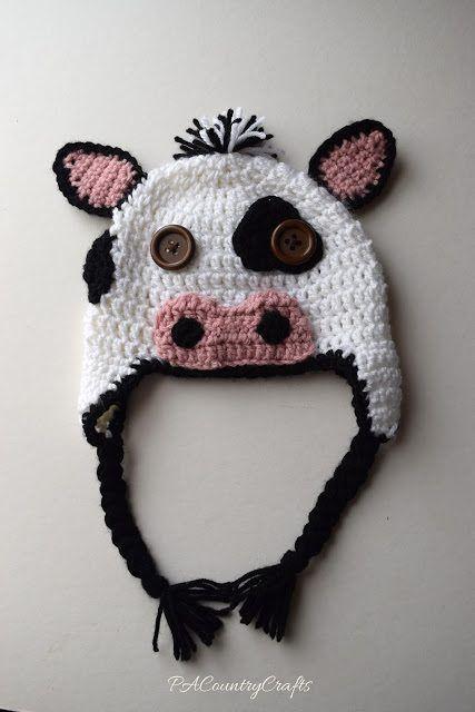 Crochet Pattern Cow Hat : 1000+ ideas about Cow Hat on Pinterest Crochet Cow ...