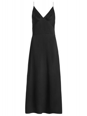 Sueded Tuck Dress