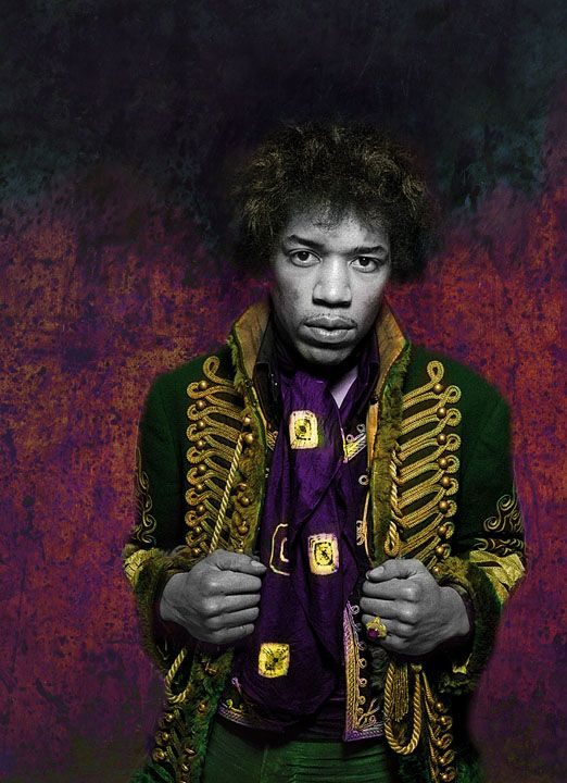 Jimi Hendrix photograph by Gered Mankowitz