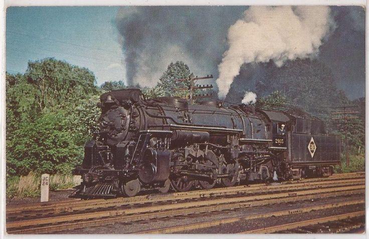 ERIE Railroad Postcard Steam Locomotive # 2935 Waldwick ...