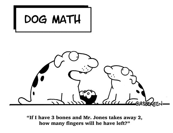 funny math cartoons for kids - Google Search
