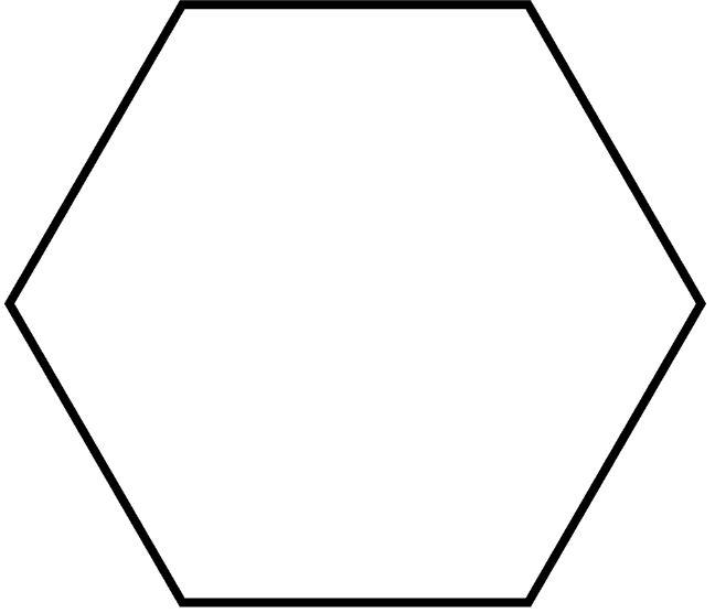 Regular Hexagon Shape 27 best images about F...