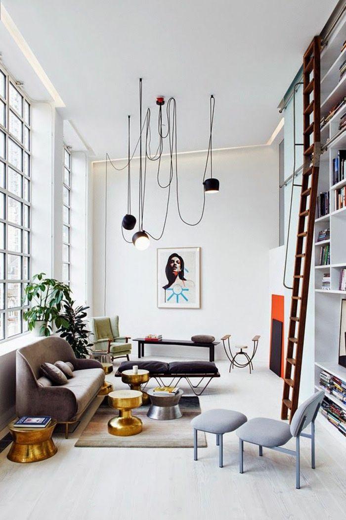 Top 25 ideas about salon style industriel on pinterest - Salon style industriel ...