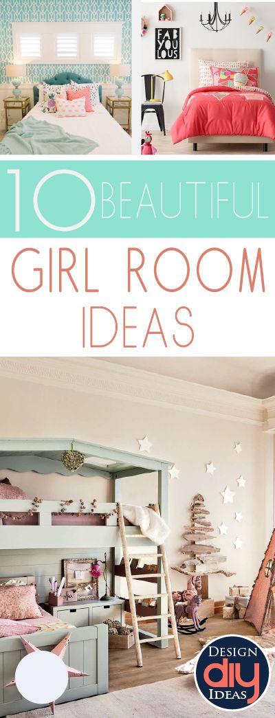 25 best ideas about girl room decor on pinterest teen girl rooms bedroom themes and teen girl bedrooms - Room Decor For Girls