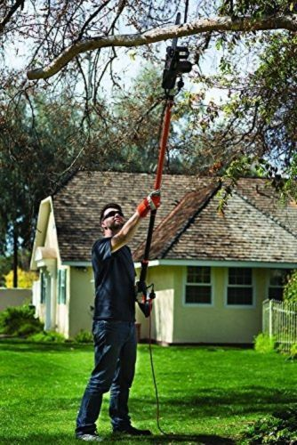 BEST Electric Chainsaw Pole Saw Combo 10-Inch 8-Amp Branch Limb Tree Trimming  #Remington
