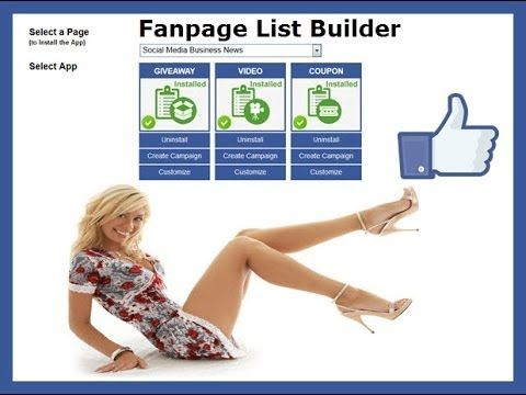 http://socialmediabusinessnews.com/fanpage-list-builder-review/ This Fanpage List Builder Review highlights all the amazing capabilities of this For Facebook Marketing