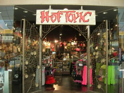 Remember when Hot Topic was badass and really cool? | 13 Essential Mall Stores That '90s Girls Shopped