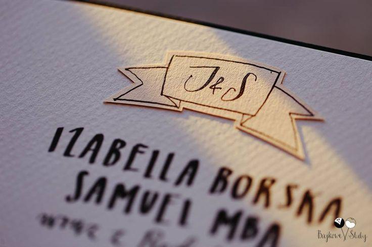I&S by HELLO calligraphy .Małgosia Małecka. / photo by Karolina Miądowicz