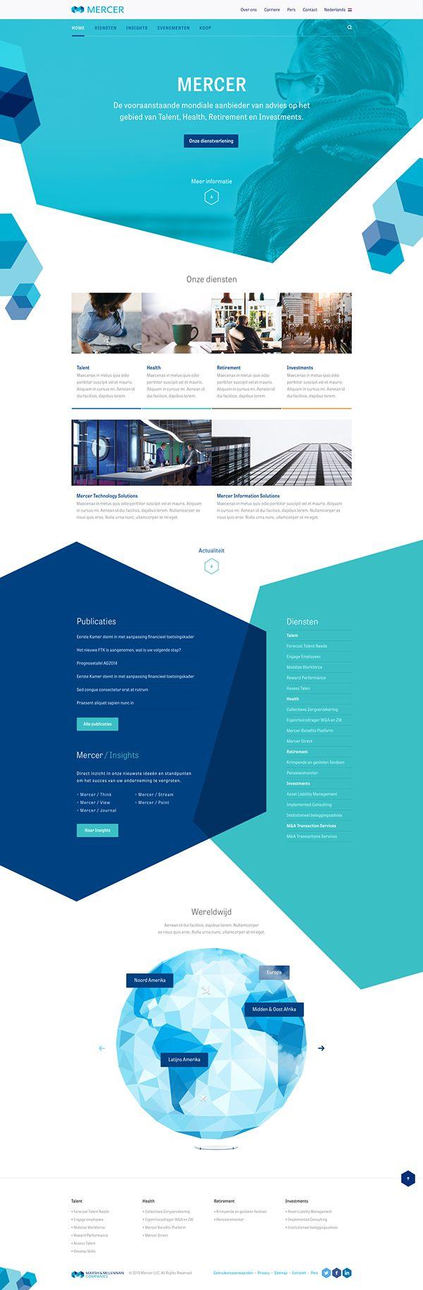Webdesigninspirarion design pinterest interfaz de for Site web de houseoftheweek