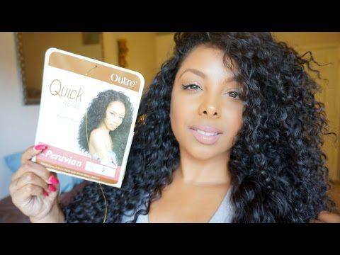 ♡ $13 GORGEOUS Hair | Outre Batik Peruvian Half Wig - MY Hair [but better]! ♡ - YouTube