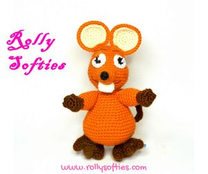 Mouse amigurumi, English and Italian free pattern