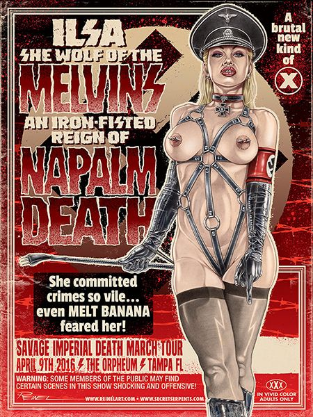 (the) Melvins - Napalm Death - Melt Banana