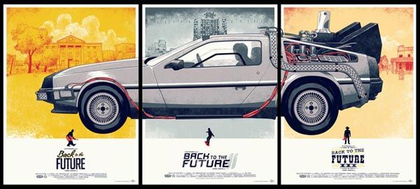 Back To The Future Trilogy by Phantom City Creative