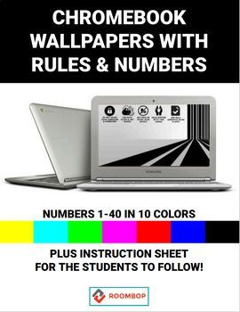 Wallpapers with Rules & Numbers Chromebook, Wallpaper