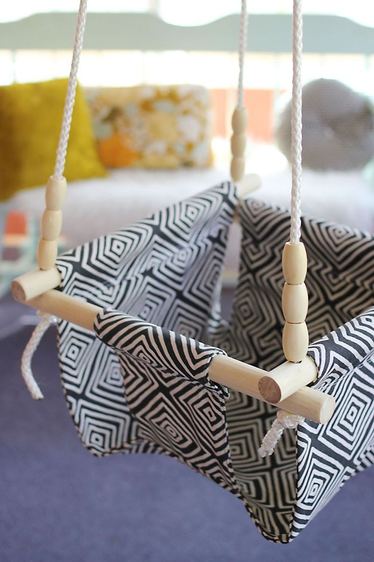 Baby And Toddler Swing DIY   So Cute! For Those Days When Your Child  Absolutely MUST Swing.
