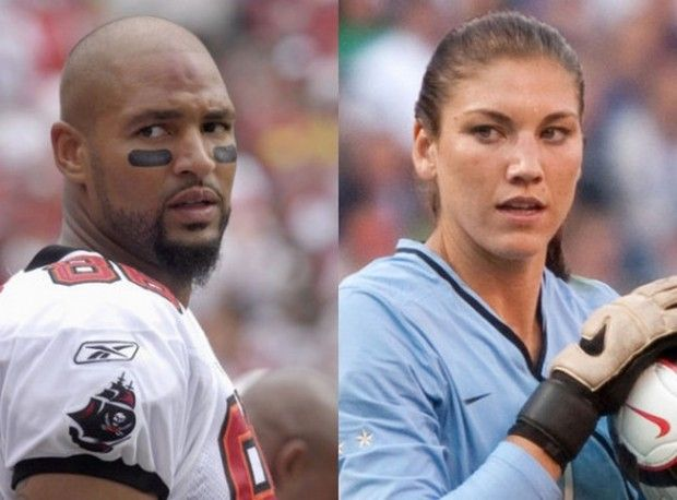 Jerramy Stevens' Wife Hope Solo Arrested