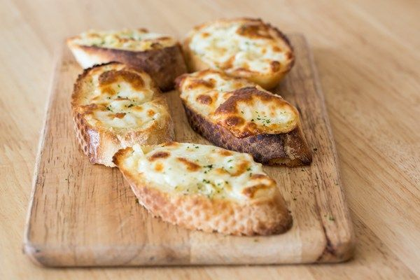 Toasted Garlic Cheese Bread