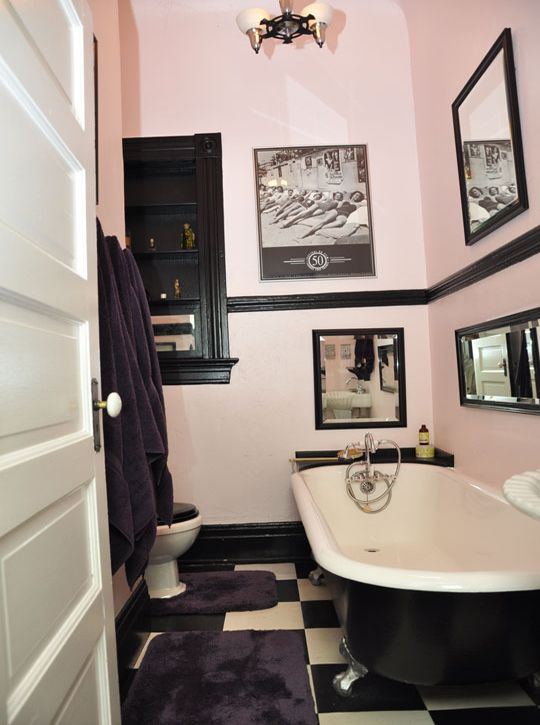marcs victorian compound in hollywood house tour retro bathroomsblack